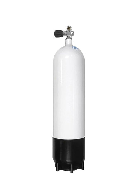 Faber 7 Litre Steel Scuba Diving Cylinder with Din/K Valve - 232bar