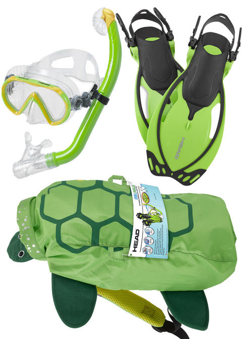Mares Sea Pals Kids Snorkeling Set - Turtle