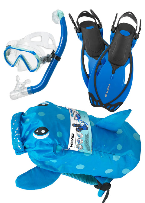 Mares Sea Pals Kids Snorkeling Set - Puffer Fish