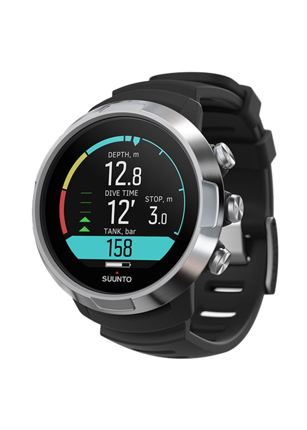 Suunto D5 Black / Silver with USB Cable