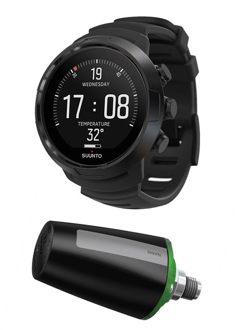 Suunto D5 All Black + Tank POD Package