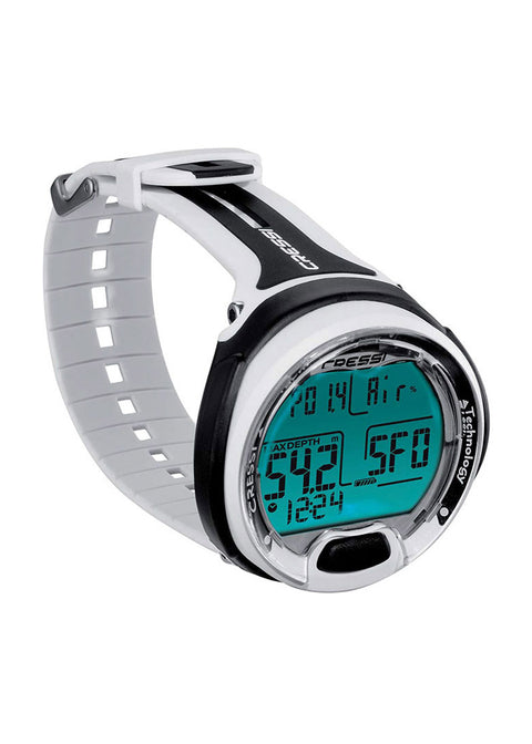 Cressi Leonardo Diving Computer - White/Black