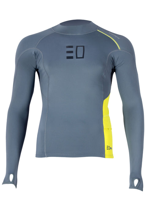 Enth Degree Mens Bombora L/S Polyfleece Rash Guard