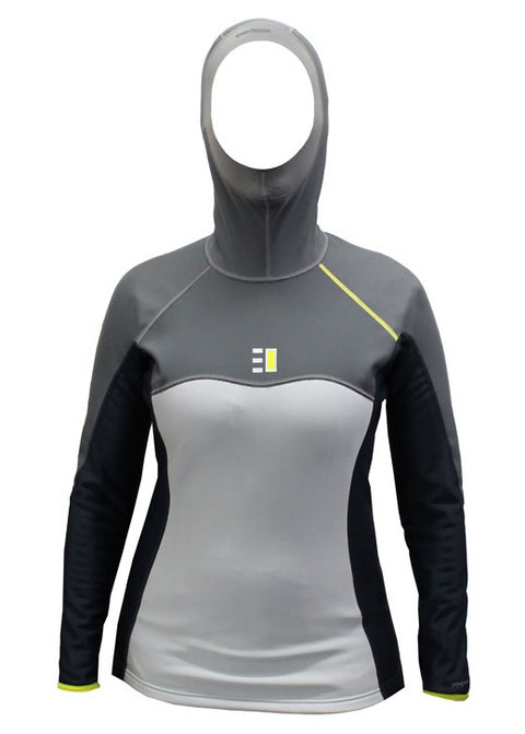 Enth Degree Womens Nekton Hooded Long Sleeve Thermal Top