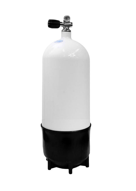 Faber 12.2L Compact Scuba Tank with Valve
