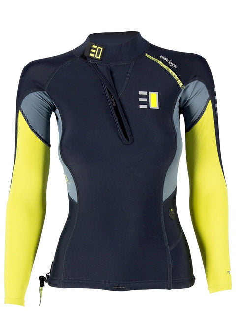 Enth Degree Womens Fiord Long Sleeve Thermal Top