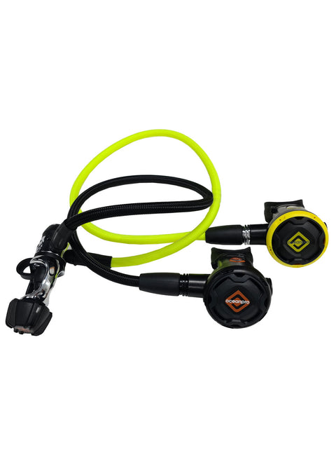 Ocean Pro F200 Regulator + OP20 Occy Set - Yoke