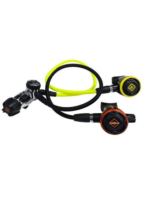 Ocean Pro Torquay F300 Regulator + OP20 Occy Set - Yoke