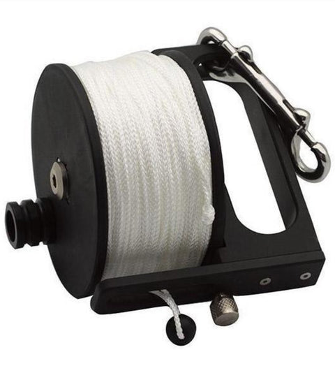 ProBlue Reel With Handle & Lock System, 200ft White Line