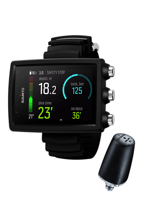 Suunto EON Core Black + Tank Pod Package