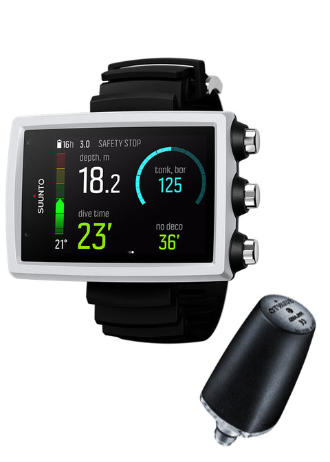 Suunto EON Core White + Tank Pod Package