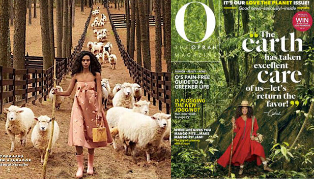 BrunnaCo in Oprah Magazine April 2019