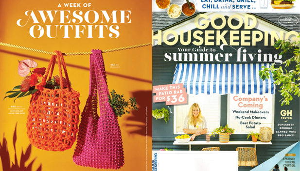 BrunnaCo Karma bag in July '19 Good Housekeeping Magazine