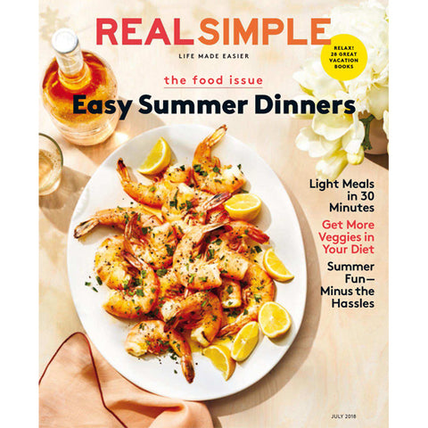 BrunnaCo in Real Simple Magazine Summer - July 2018