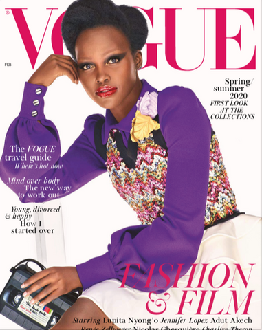 BrunnaCo in February 2020 British Vogue
