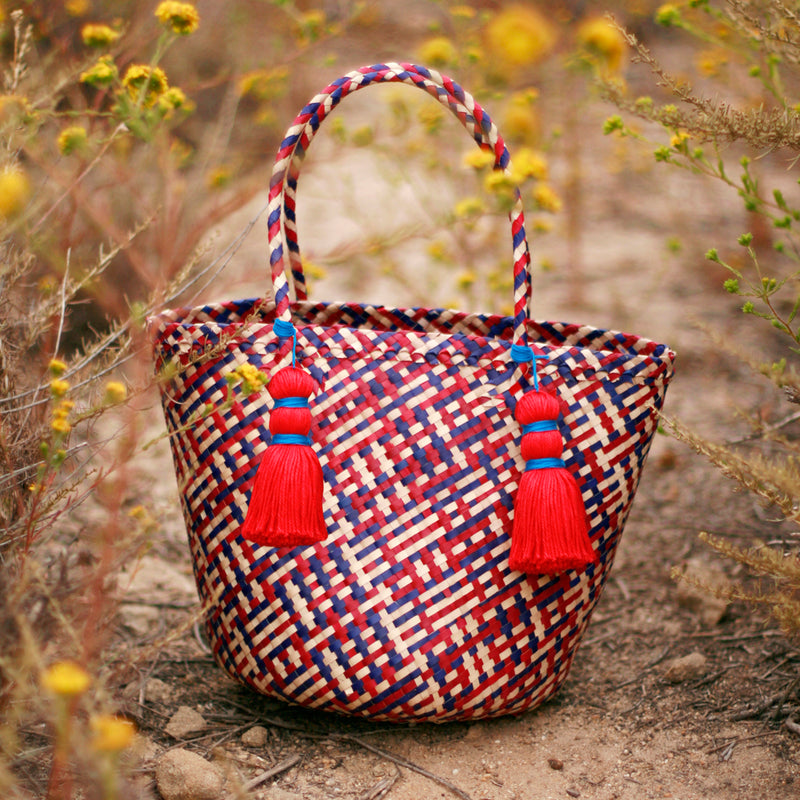 Coco Palm Straw Bag - Del Mar
