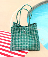 Toko Bazaar Woven Tote Bag - in Green