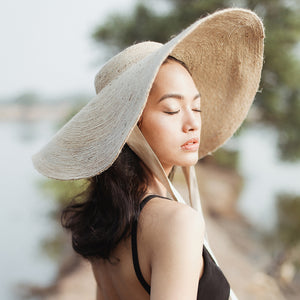 Lola Wide Brim Jute Straw Hat