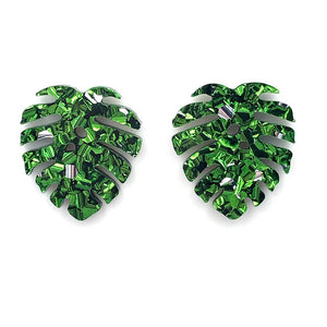 Monstera Statement ~ Chunky Green