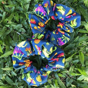 Croc Garden Scrunchie ~ Multi
