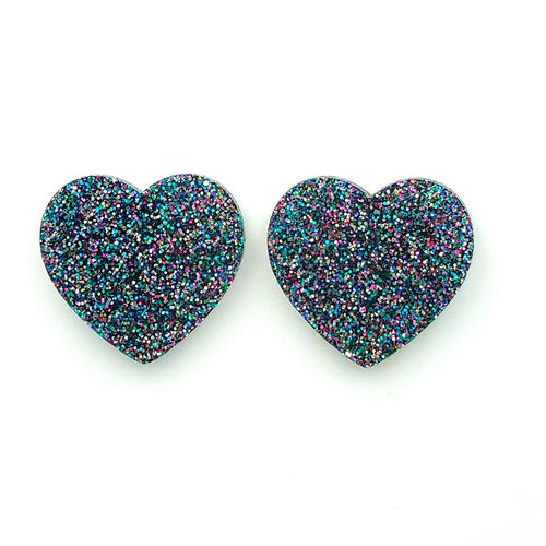 Heart Statement ~ Blue Multi
