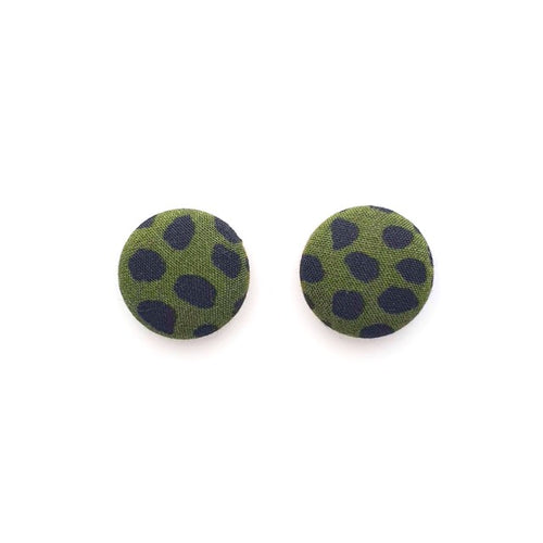 Button studs 19mm ~ Khaki spot