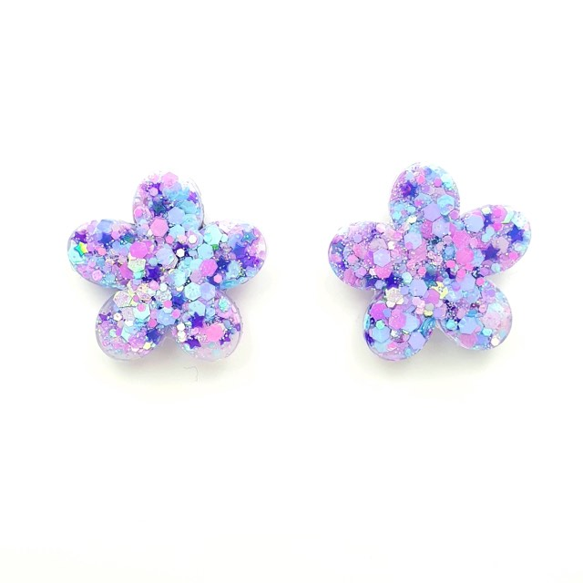 Bloom Stud ~ Cotton Candy