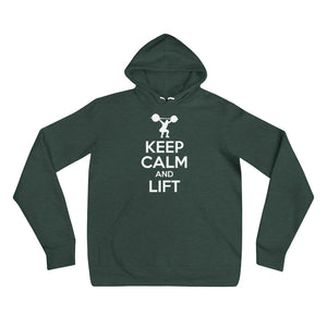 Keep Calm and Lift Hoodie