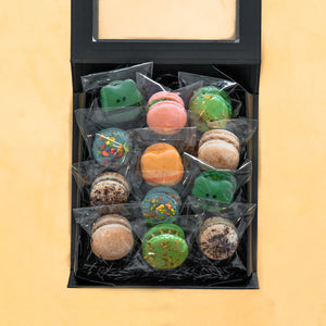 Assorted Macaron Collection Set of 12