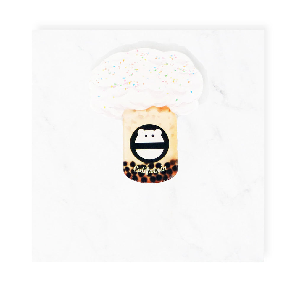 Jasmine Milk Tea Boba Pin