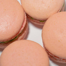 Load image into Gallery viewer, Strawberry Matcha Macaron