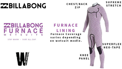 Billabong Furnace Wetsuits