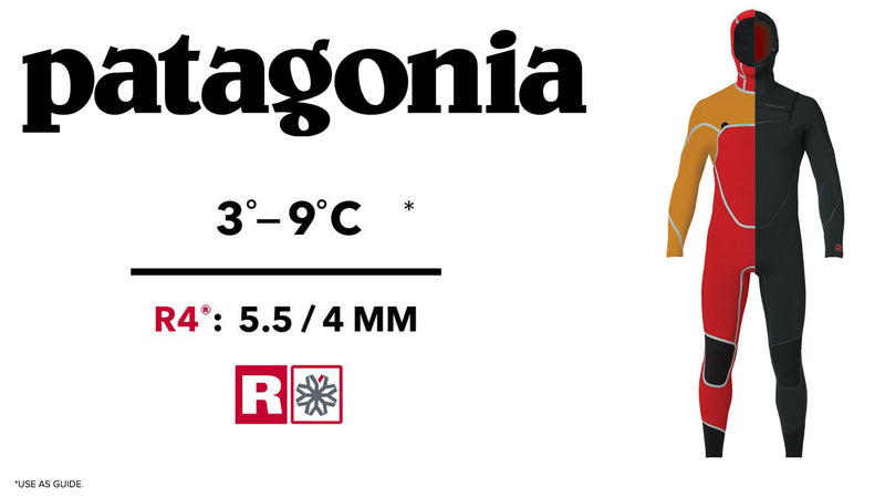 Patagonia R4 Wetsuits, Boots, Hoods and Gloves
