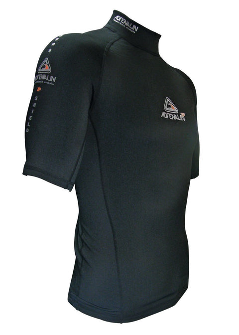 Adrenalin 2P Thermal short Sleeve Rash Guard black  buy online rashie