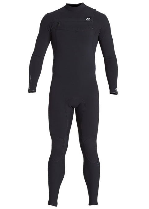 Billabong Mens Furnace Comp 3/2mm Chest Zip Steamer Wetsuit