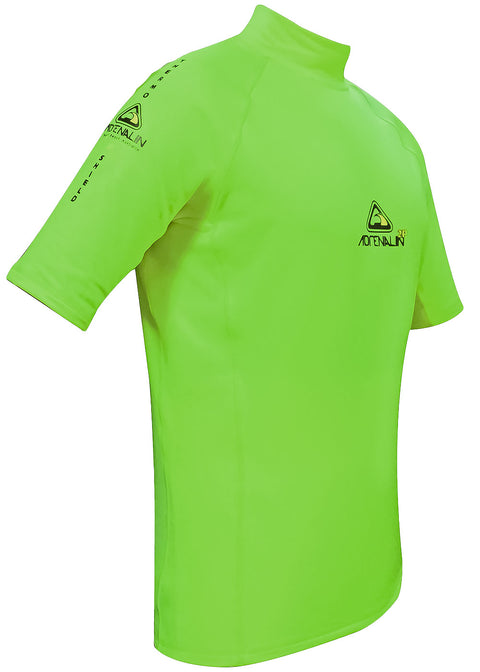 Adrenalin 2P Thermal short Sleeve Rash Guard lime green buy online rashie