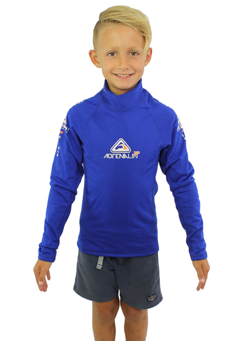 Adrenalin Kids 2P Thermal Shield Long Sleeve Rash Top