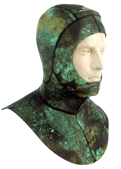 Aropec 1.5mm Camo Spearfish Hood