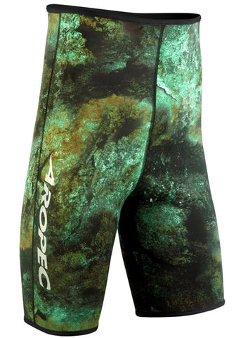 Aropec 1.5mm Spearfish Camo Wetsuit Shorts
