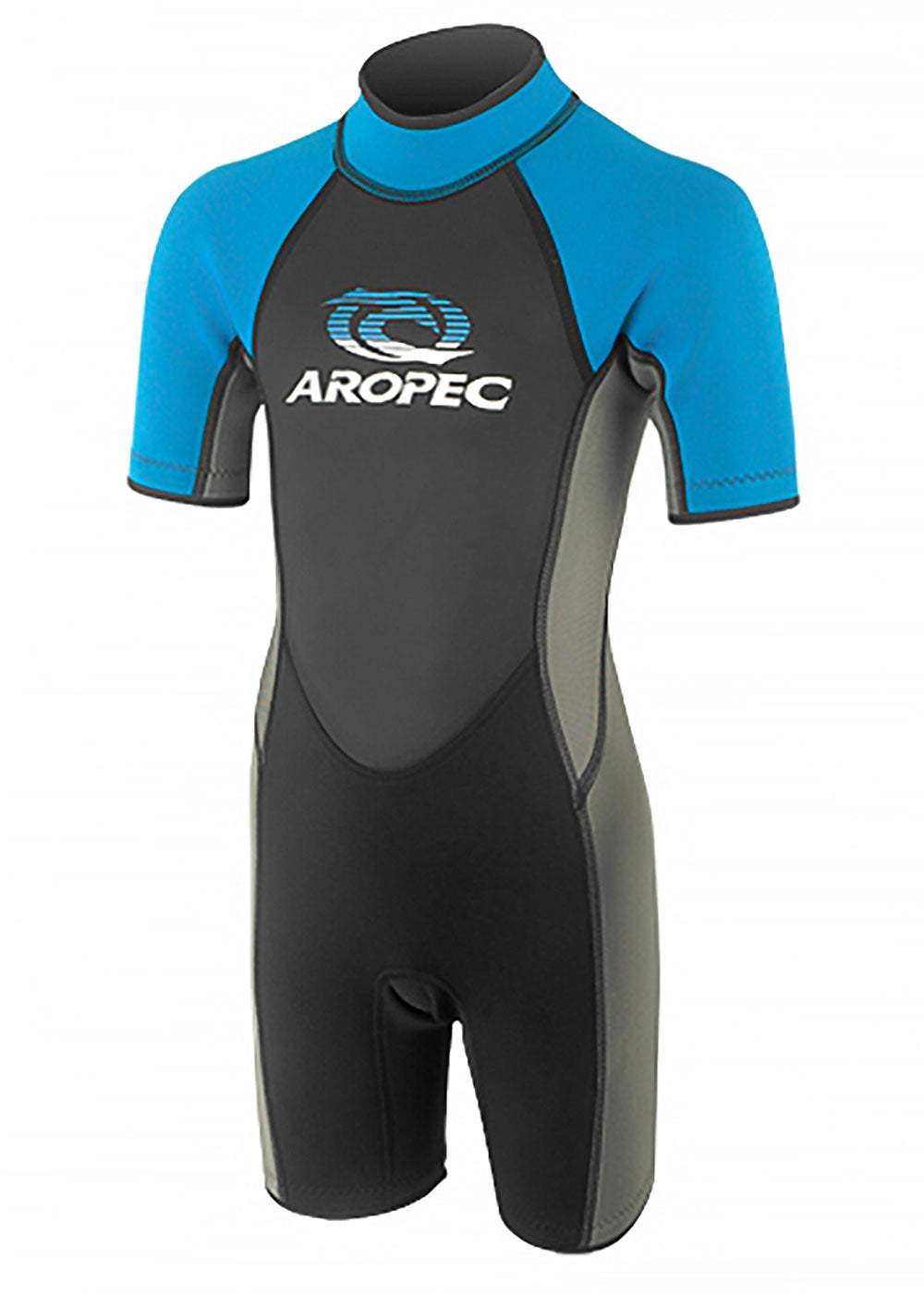 Aropec Youth 2.5mm Blue Spring Suit - Wetsuit Warehouse