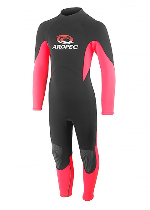 Aropec Youth 2mm Pink Steamer Wetsuit Warehouse