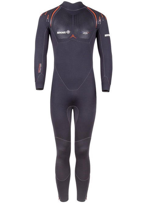 Beuchat Mens Optima 5mm Scuba Diving Wetsuit