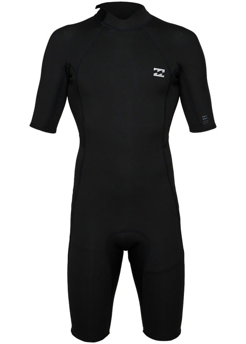 Billabong Mens Absolute 2mm Back Zip Spring Suit