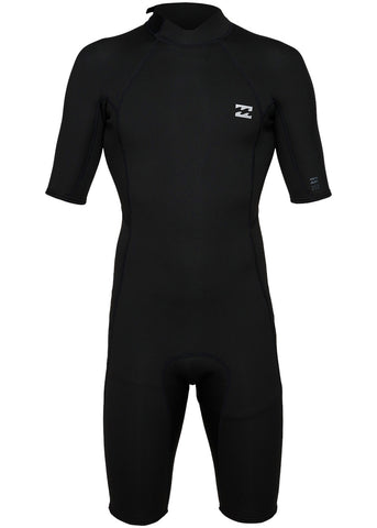Billabong Mens Absolute 2mm Back Zip Spring Suit Wetsuit