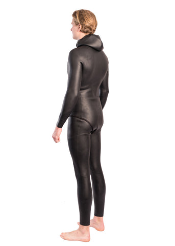 Aropec Mens 3mm Super-Stretch Free diving 2 Piece Wetsuit