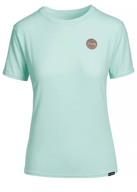Dakine Womens Dauntless Short Sleeve Rash Guard - Pastel 10002327-PAS