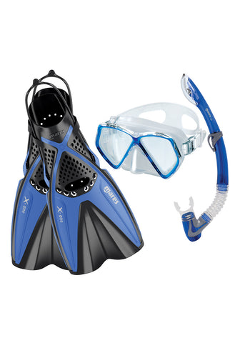 Mares Junior Snorkeling Set X-One Blue