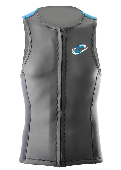 Aropec Mens 2mm Full Zip Neoprene Vest