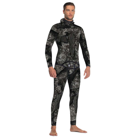 Omer Black Stone 2-Piece Wetsuit with Jacket and HW Pants - 5mm