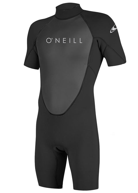 Oneill Mens Reactor II 2mm Back Zip Spring Suit wetsuit shorty buy online australia black